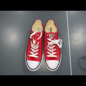 Converse Shoes - Red Converse Low-top